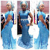 Beautiful And Creative Aso Ebi Style Long Gown