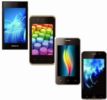 Karbonn Smart A52 Plus Rs. 2199, Smart A50s Rs. 2199, Smart A12 Star Rs. 3099 & Smart A11 Star Rs. 3299