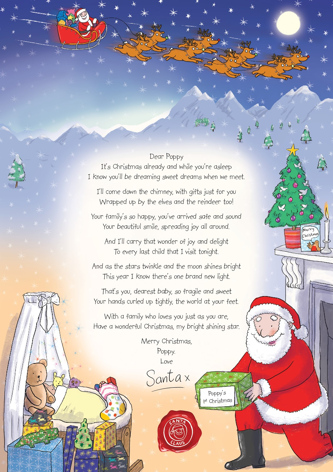 madhouse family reviews letter from santa make a child With xmas letters from santa