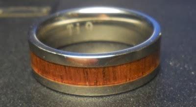 Titanium Koa Wedding Bands 64 Ideal Can you see the