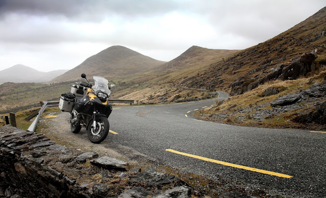 healy pass on motorcycle