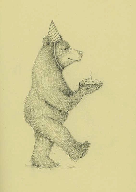 happy birthday brown bear - yara dutra