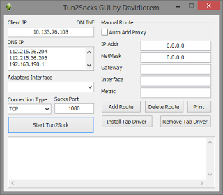 Download Tun2Socks GUI Terbaru Full Version + Tutorial Lengkap