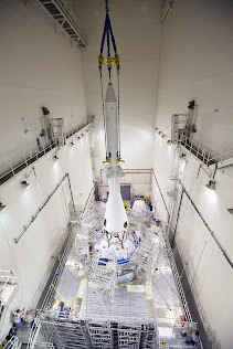 LAUNCH ABORT SYSTEM INSTALLED ON ORION SPACECRAFT
