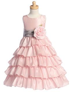Vestidos Rosa para Niña de las Flores