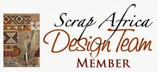 You can find my inspiration projects on Scrap Africa blog
