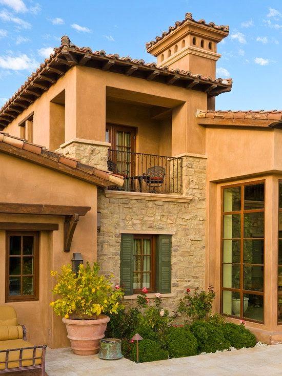 Fachadas de casas mediterranea i - Fachadas de casas rusticas modernas ...