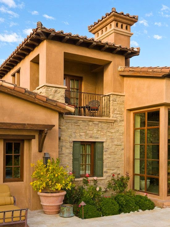 Fachadas de casas mediterranea i for Imagenes de fachadas de casas rusticas mexicanas