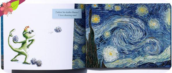 Étoiles/Stars de Hélène Kérillis et Stéphane Girel - éditions Léon art & stories