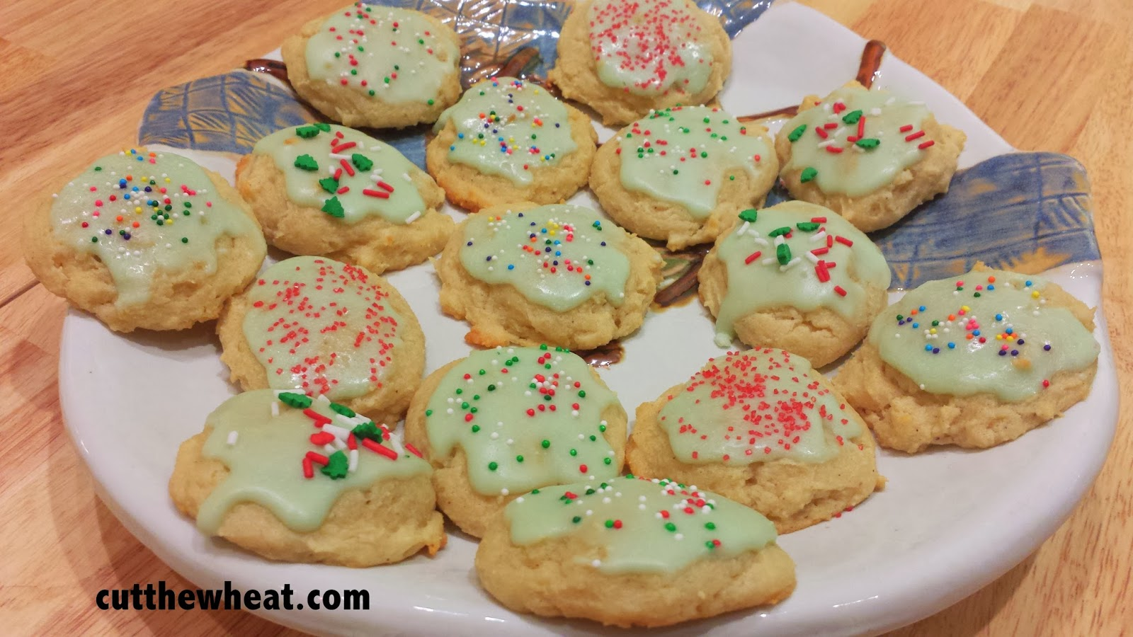 Sour Cream Drop Cookies With Icing Cut The Wheat