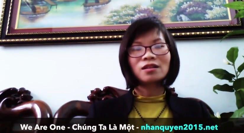 Blogger Phạm Thanh Nghiên và Chiến dịch Nhân quyền 2015