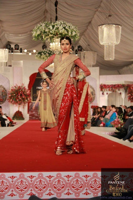 Pakistani Fashion Style Pantene Bridal Couture Week Style 360 2013