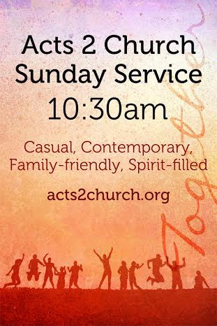 Visit on the web at acts2church.org or live in Virginia Beach
