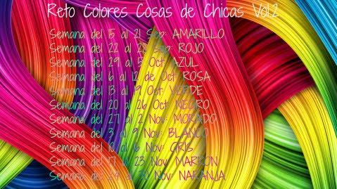 Reto de Colores Cosas de Chicas Vol. 2