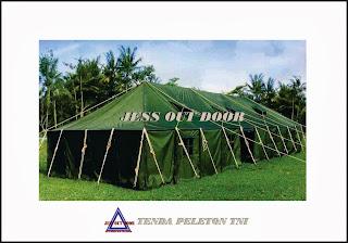 Pabrik, Tempat, Produksi, Tenda Pleton Militer TNI