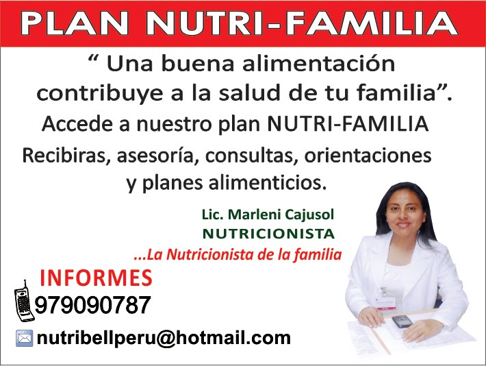 PLAN NUTRI-FAMILIA