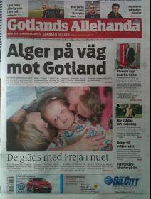Freja i Gotlands Allehanda