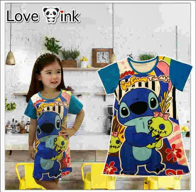 Dress Kids Stitch.Love Ink.