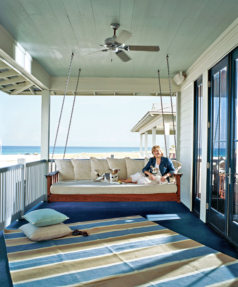 Parkdale ave a florida beach house for Beach inspired homes