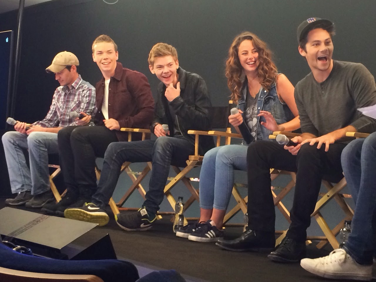 maze runner cast meet and great
