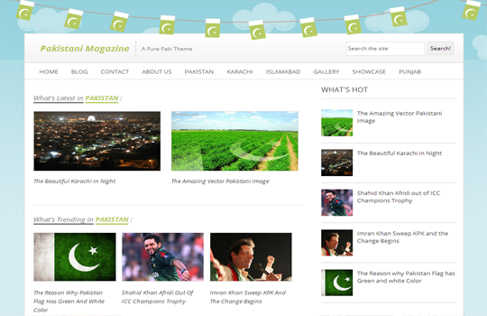 pak mag Top best premium blogger templates free