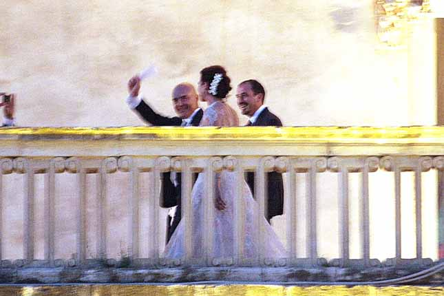 Matrimonio Zingaretti Ranieri Foto : Oggi sposi luisa ranieri foto matrimonio del