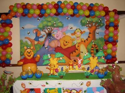 Fiesta infantil decoraci n con winnie pooh for Cuarto winnie pooh