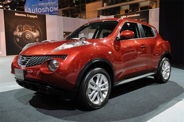2012 Nissan Juke%2Bon%2Bauto%2BShow 2012 Nissan Juke has a design for all capricious of the SUV fans!