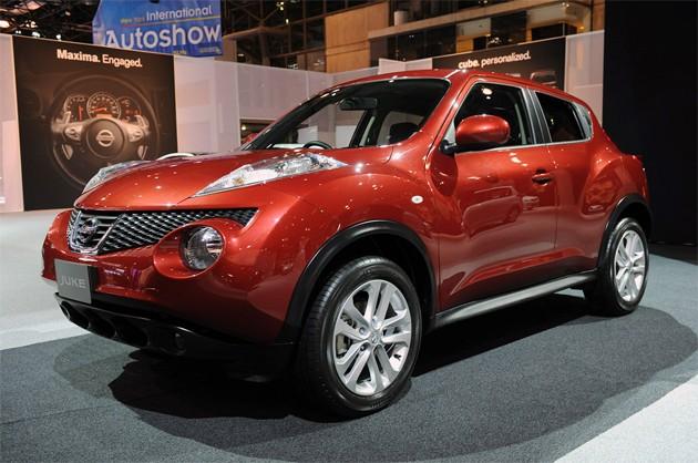 2012 Nissan Juke%2Bon%2Bauto%2BShow 2012 Nissan Juke has a design for all capricious of the SUV fans!