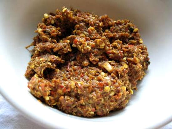 Red Chili and Vinegar Paste (Balchao Masala)