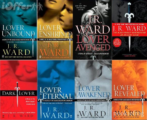 black dagger brotherhood the series