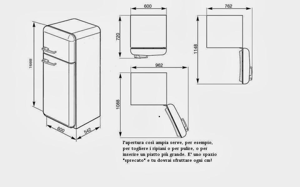 Una casasumisura per loro una casasumisura per voi - Cucina frigo libera installazione ...