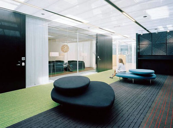 In Design Magz Office Interior Waiting Room Design