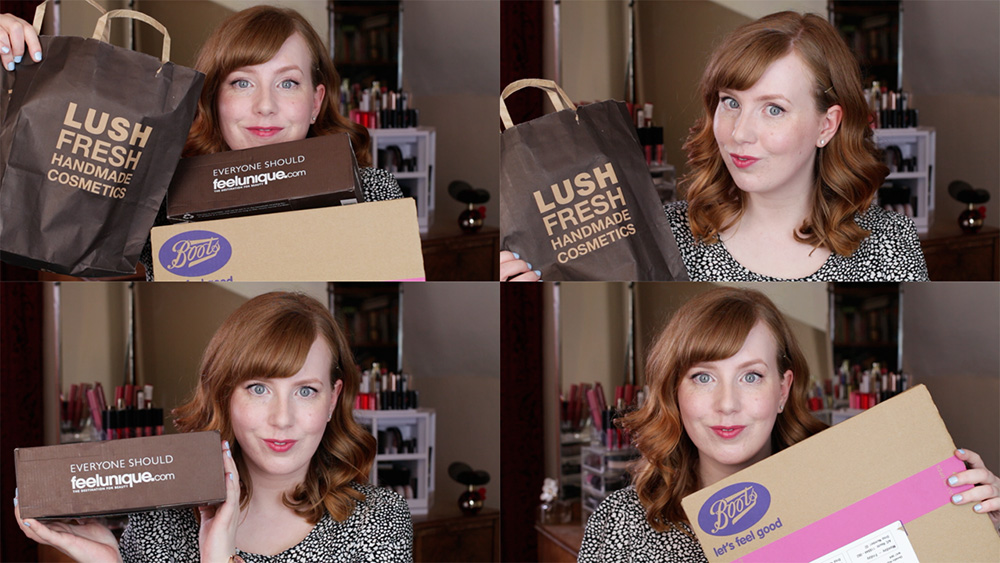 Repurchase Haul from Lush, Feel Unique and Boots