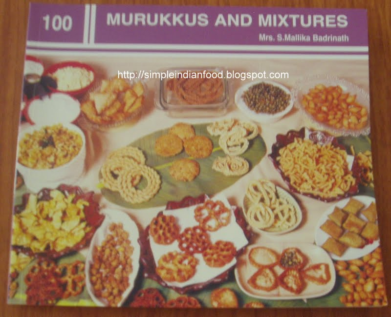 Basics of blogging and cookbook reviews 100 murukkus and for Awesome cuisine authors mallika badrinath