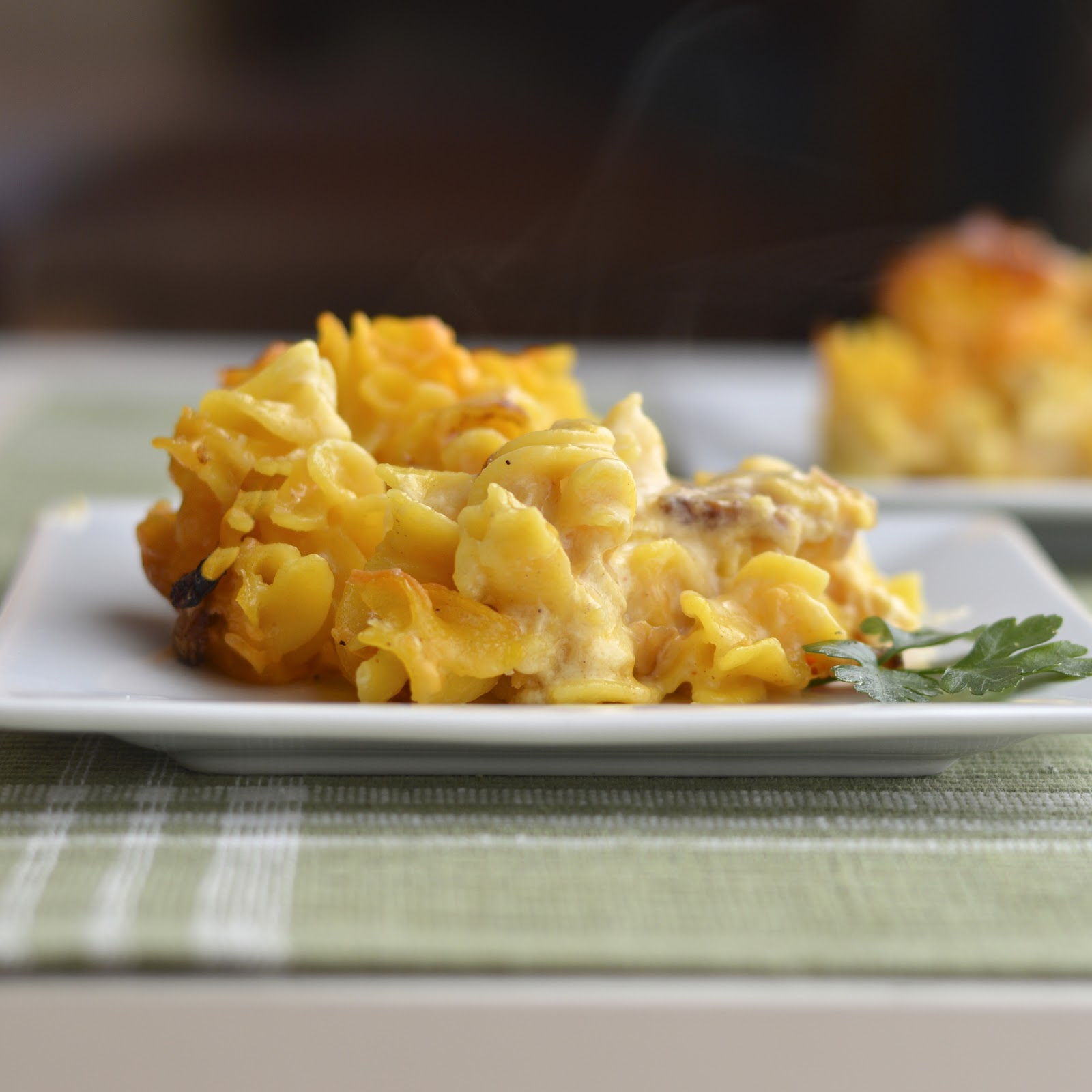 Gluten Free Macaroni and Cheese with Crisp Bacon | Virtually Homemade ...