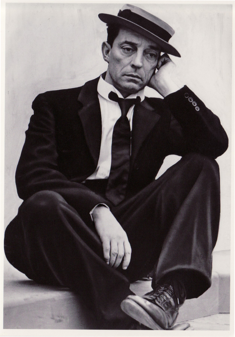 Another Embrace: Buster Keaton .... a silently genius