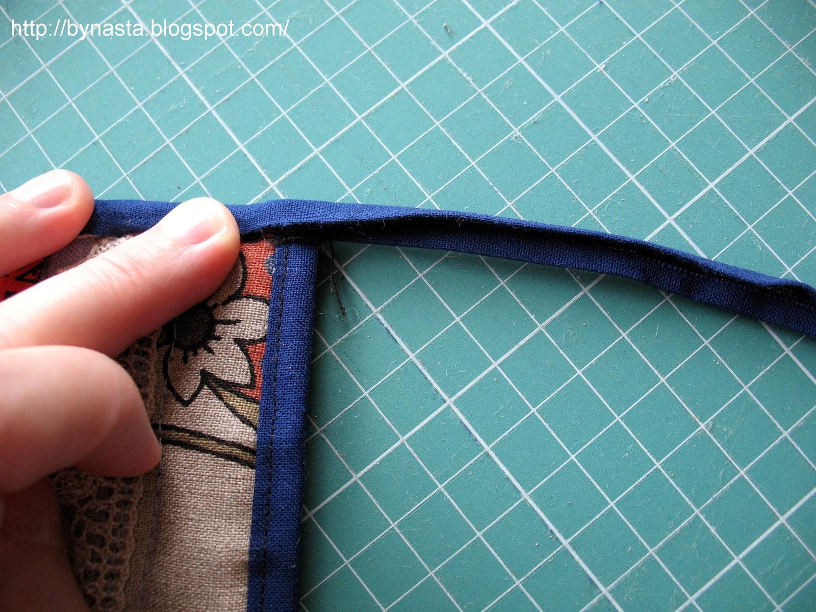 Как сшить петельку на полотенце 4
