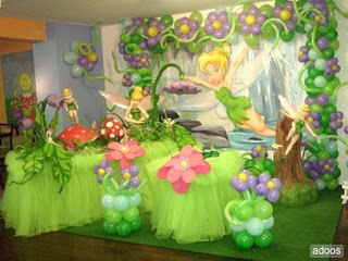 MyTotalNet.com: Children Parties, Tinkerbell Decoration