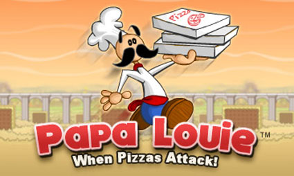 papa louie pizzas attack