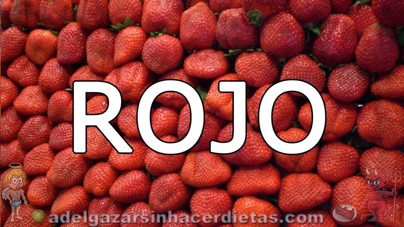 Beneficios de los vegetales según su color - Rojo