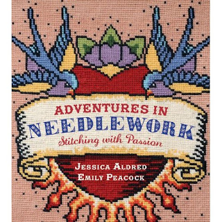 Adventures in needlework. Embroidery book.