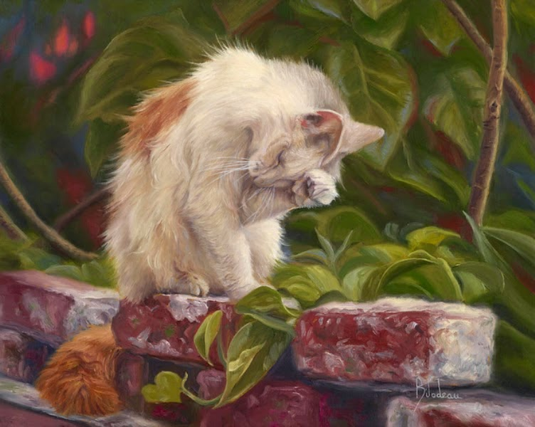 gatos-pintados-al-oleo