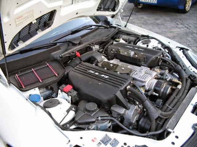 mercedes slk 55 amg slr engine