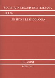 Lessico e lessicologia, a cura di Silvana Ferreri