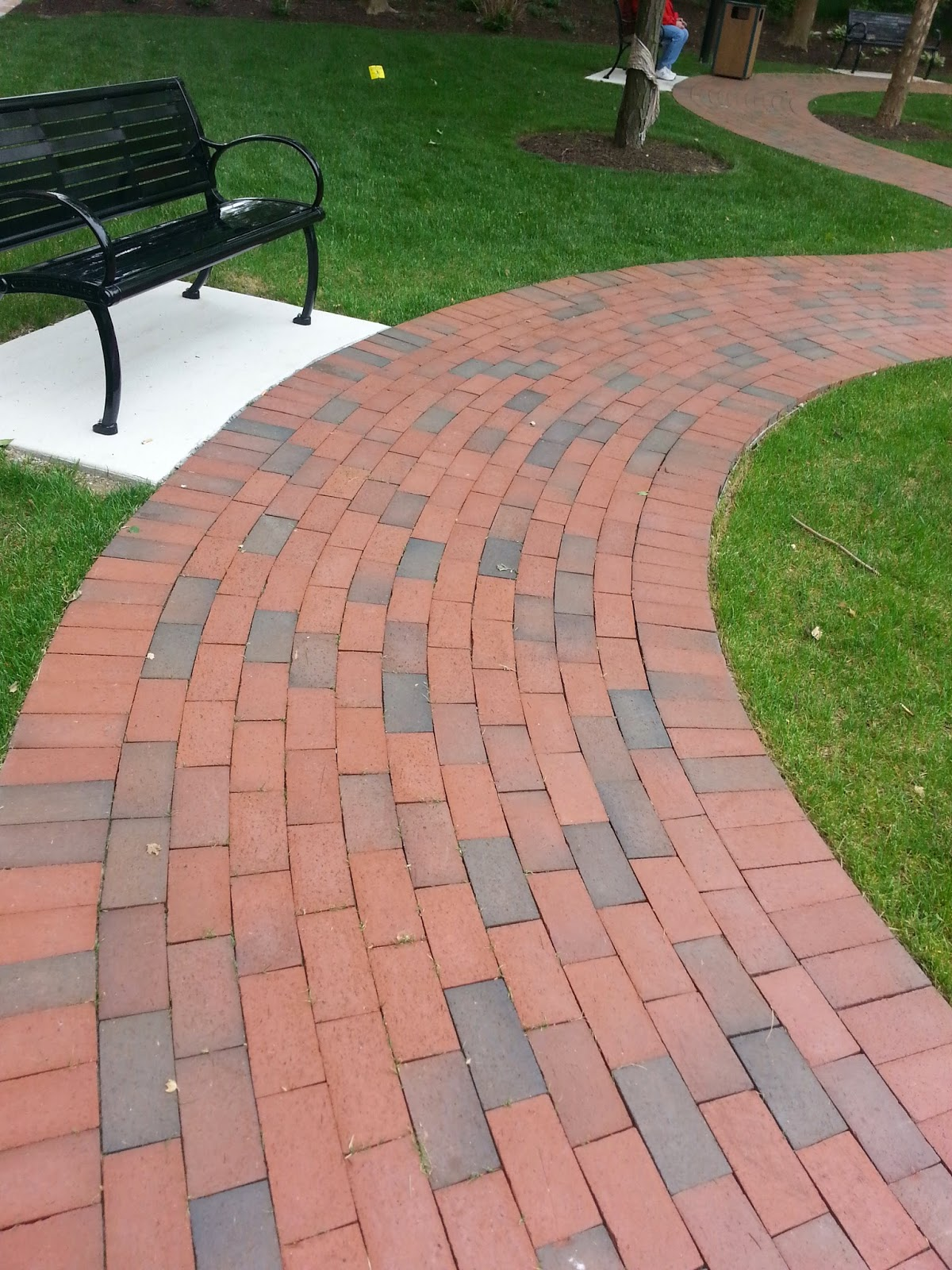 Clay Brick Pavers Custom Stoneworks & Design Inc. Clay Brick Walkways