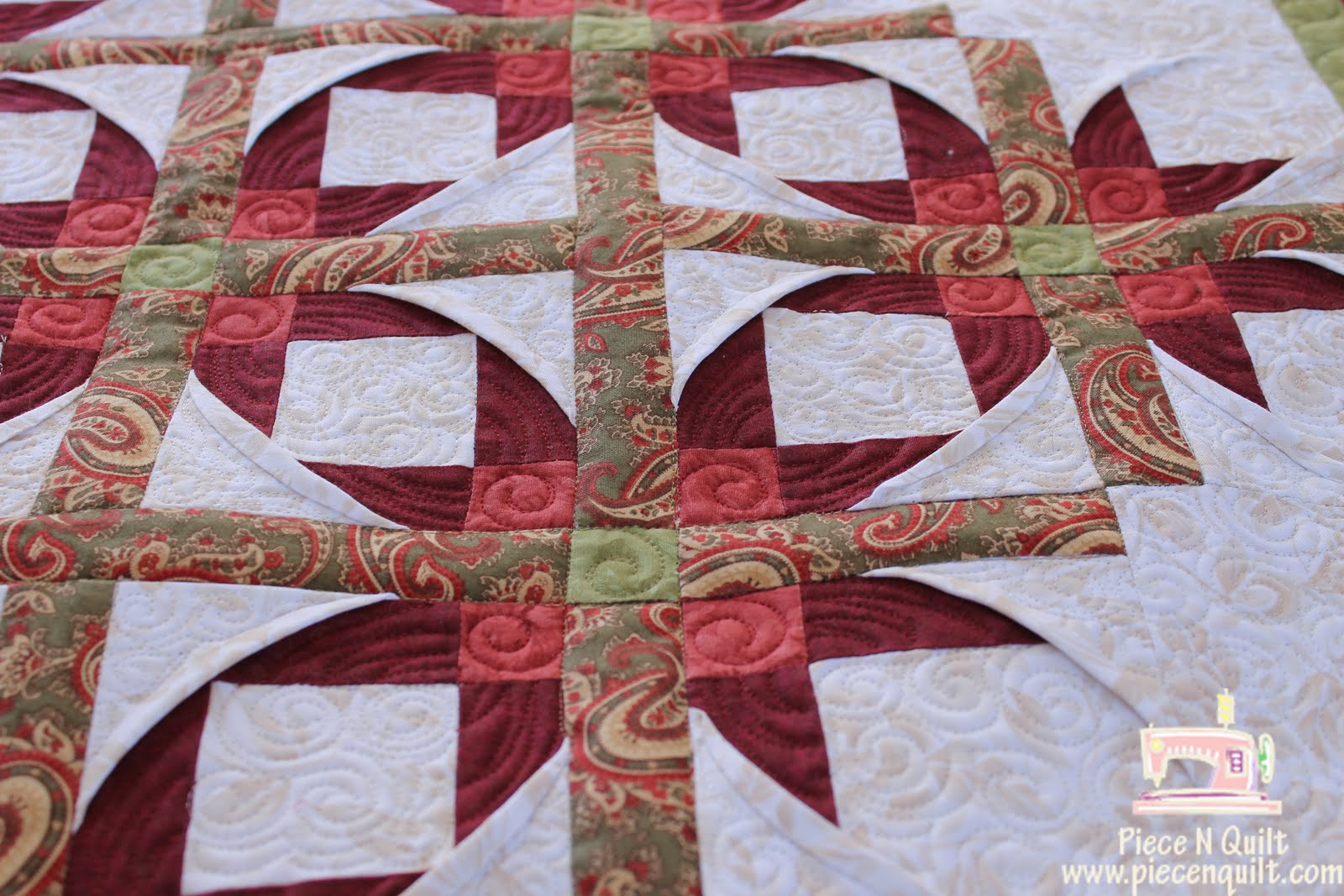 Piece N Quilt: Mexican Star {Machine Quilting} : mexican quilt - Adamdwight.com