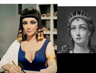 rambut poni Cleopatra