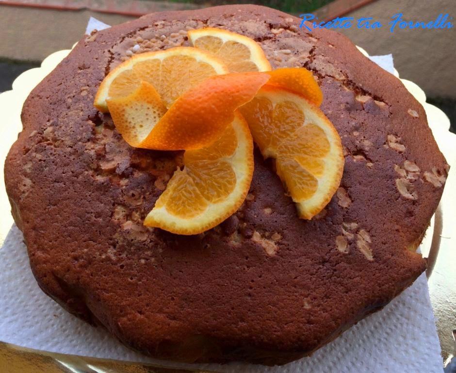 torta al profumo di arancia