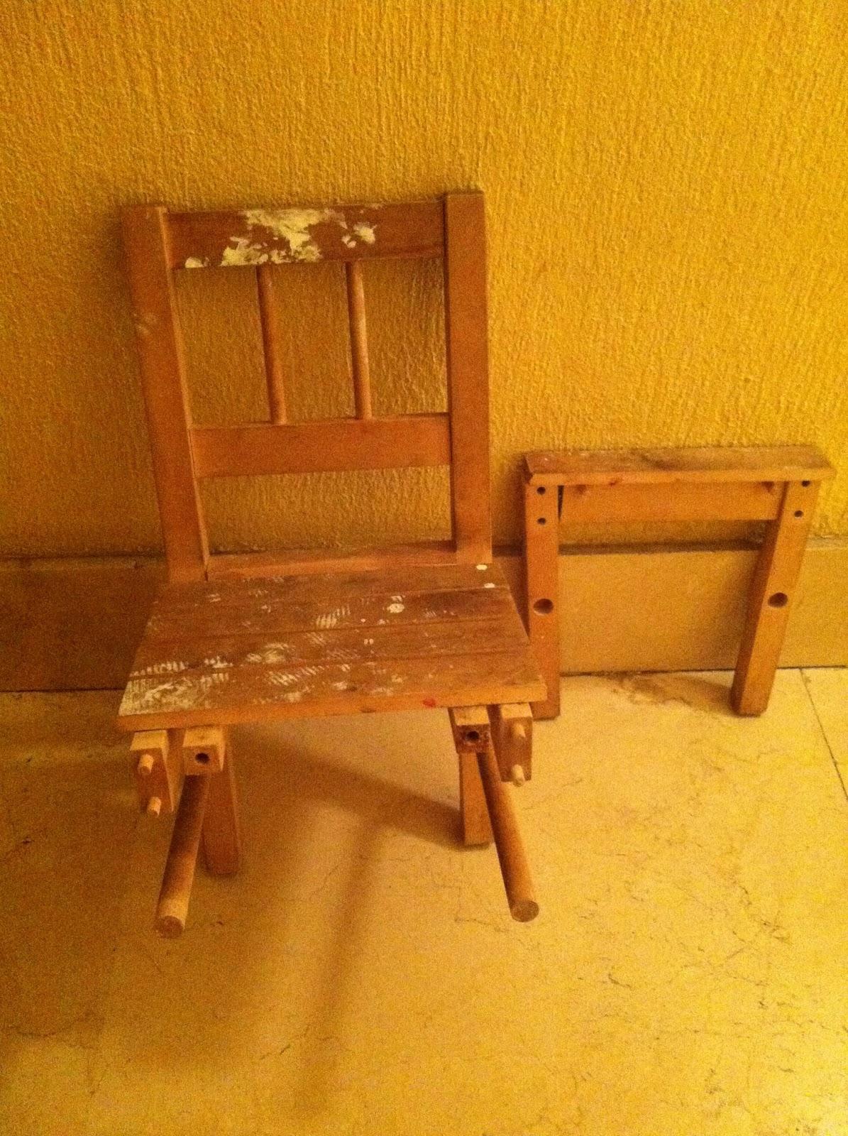 Las manualidades de yiya restaurar una silla de madera - Sillas para restaurar ...